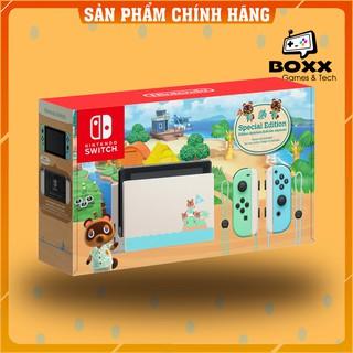 Máy Nintendo Switch V2 Animal Crossing, bảo hành 12 tháng kèm quà tặng thumbnail