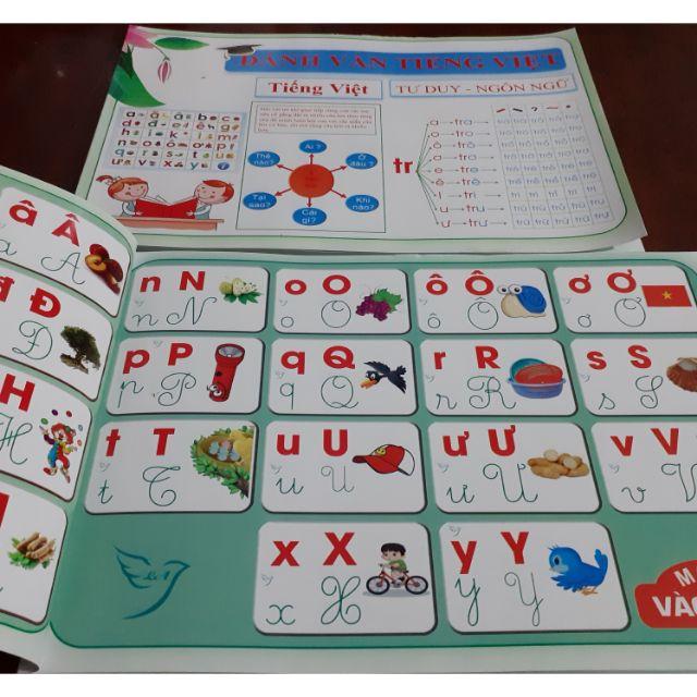 Đánh vần tiếng việt cho bé phát triển tư duy ngôn ngữ