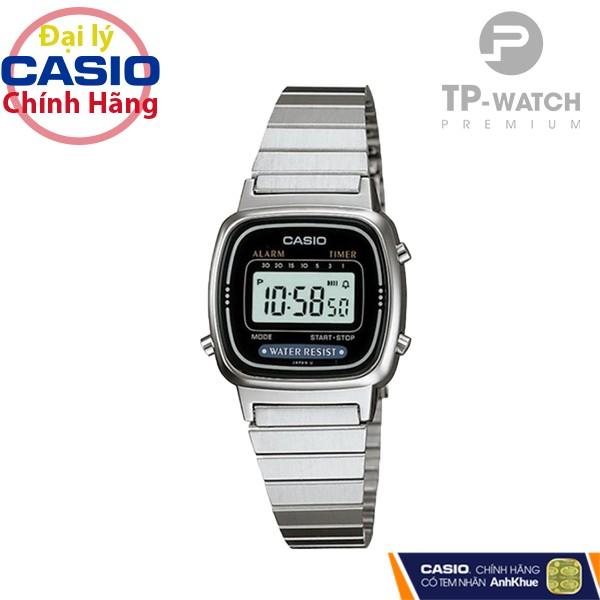 Đồng Hồ Nữ Casio Standard LA670WA-1SDF Chính Hãng | Casio Standard LA670WA-1S Dây Th