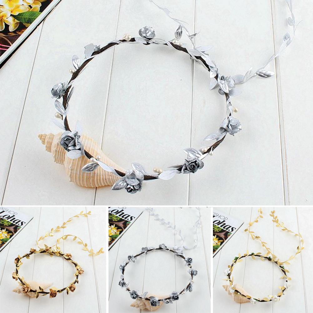 Apparel Accessories Girl's Hair Accessories Festival Wedding Wreath Garland Crown Flower Headpiece Photography Tool For Adults And Children