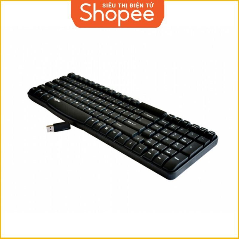 [Siêu Khuyến Mãi] Bàn phím máy tính không dây WireLess Rapoo E1050 Giá chỉ 323.750₫