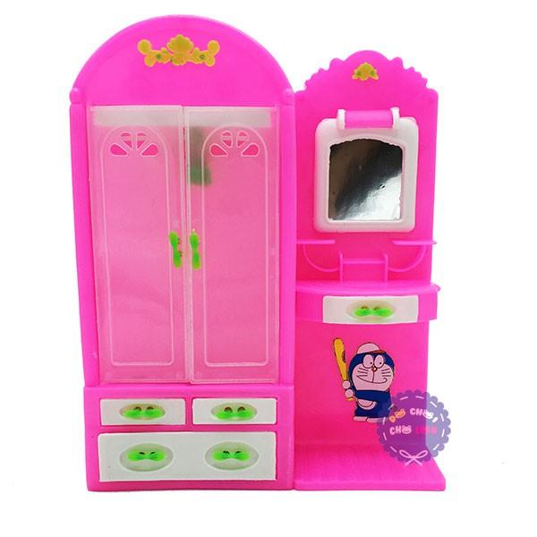 Đồ chơi tủ quần áo hồng và bàn trang điểm cho búp bê - 2798936 , 71642233 , 322_71642233 , 68000 , Do-choi-tu-quan-ao-hong-va-ban-trang-diem-cho-bup-be-322_71642233 , shopee.vn , Đồ chơi tủ quần áo hồng và bàn trang điểm cho búp bê