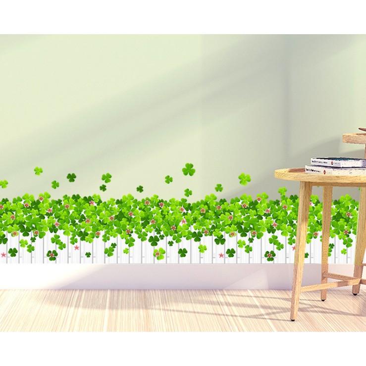 [Xả Kho] Decal dán tường các mẫu dán chân tường cao cấp