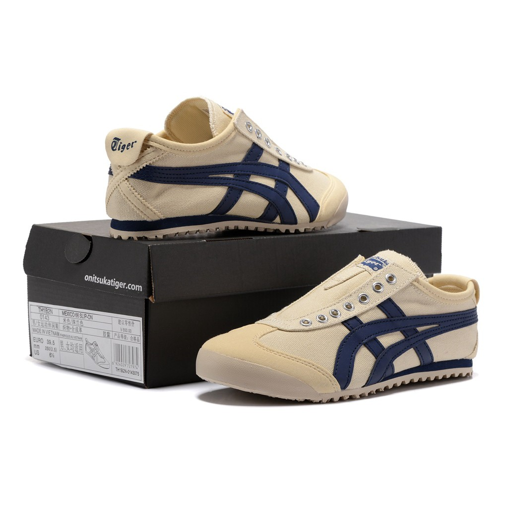 Original Asics tiger Canvas shoes flatshoes running shoes for men/women low top0