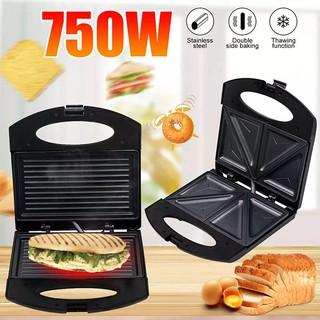 Máy kẹp bánh mì, Máy nướng bánh mì Sandwich đôi chính hãng Haeger