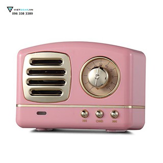 Loa bluetooth Radio Retro kiểu dáng cổ điển