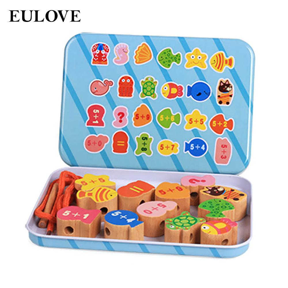 Wooden Building Blocks Developmental Wood Toys With Storage For Kids Creative