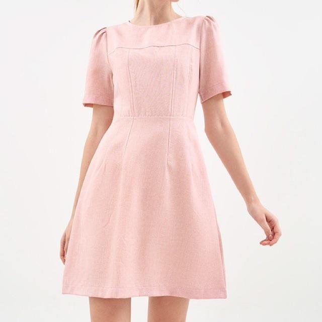 Đầm Marc hồng new 100% nguyên tag size L