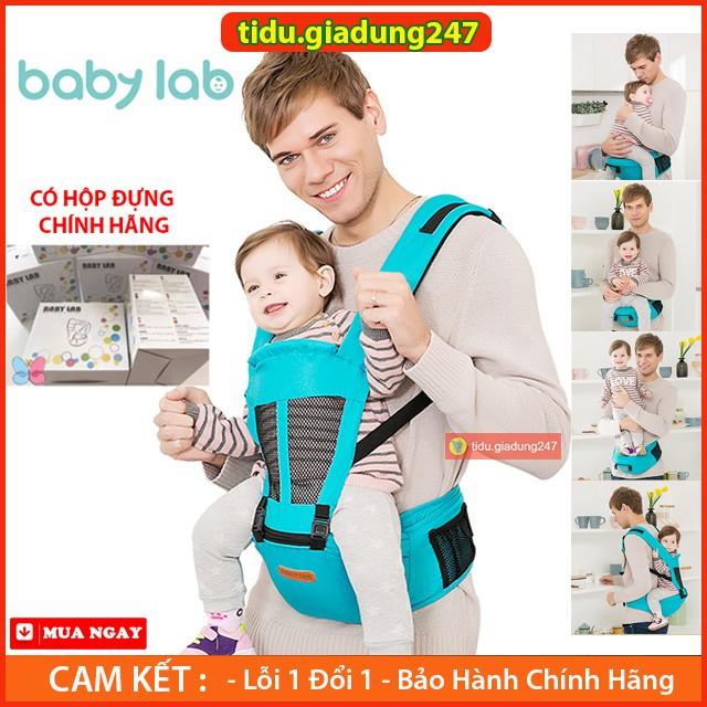 [ HỘP CHÍNH HÃNG ] Địu Ngồi Em Bé Trợ Lực 4 Tư Thế Baby Lab Nhẹ Nhàng , Chắc Chắn