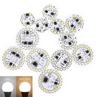 【NEW】LED Bulb Patch Lamp SMD Plate Circular Module Light Source Plate For Bulb Light
