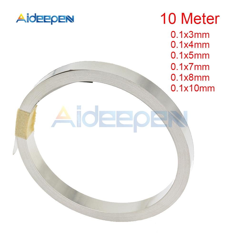Dải niken 10m 18650 pin Li-ion 0.1x3/4/5/7/8/10mm cho máy hàn