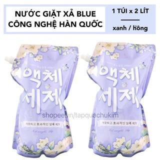 NƯỚC GIẶT BLUE HÀN QUỐC TÚI 2KG THƠM NHƯ HOA