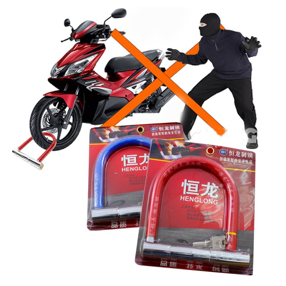 Khóa chữ U chống trộm HENG LONG cho xe kèm 2 chìa - 2810153 , 1164722806 , 322_1164722806 , 125000 , Khoa-chu-U-chong-trom-HENG-LONG-cho-xe-kem-2-chia-322_1164722806 , shopee.vn , Khóa chữ U chống trộm HENG LONG cho xe kèm 2 chìa