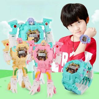 💕Pentagon💕💕Pentagon Transformers Toys Figure Robots Electronic Deformation Watch