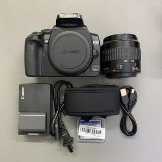 Bộ máy ảnh canon 400D kèm lens 28-80 USM 90%