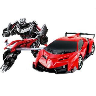 [HÀNG CHẤT LƯỢNG] ĐồChơi Cho Bé – Ô Tô Biến Hình Thành Robot Transformers Điều Khiển Từ Xa – Ô Tô Biến Hình – 219