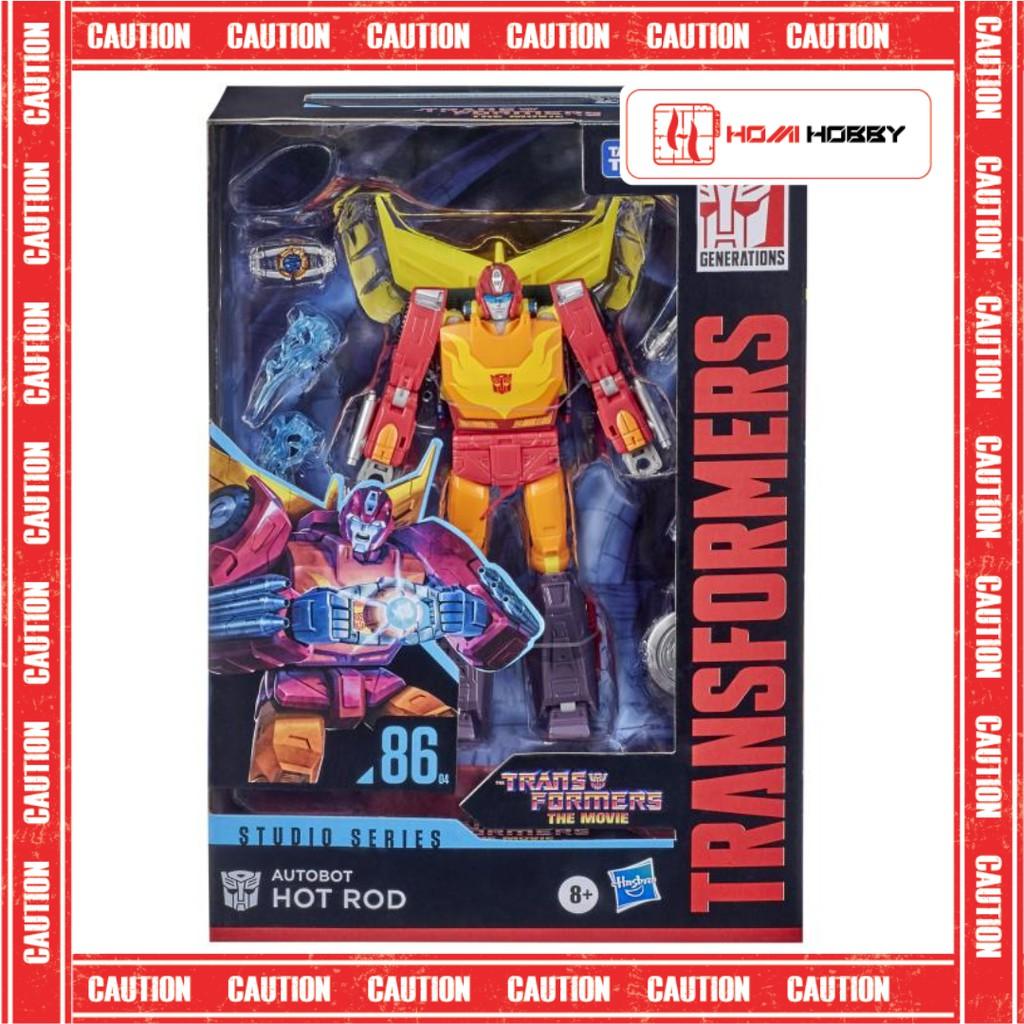 Mô hình Transformers Studio Series SS86 – 04 Hot Rod Transformer