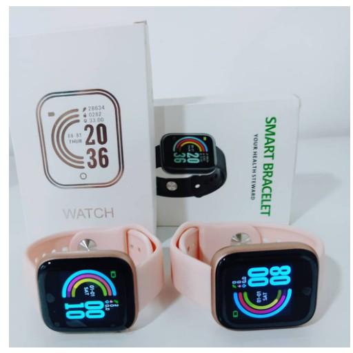Smartwatch Y68/D20/GM20 à Prova d'Água/Bluetooth/USB/Monitor Cardíaco/Pulseira inteligente/Relógio Inteligente(x7 p8 p9 x8 w46 w26  hw12 t600 t900)