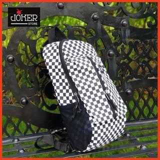 [ Cá Tính ] Đeo Chéo Van.s Checker Board Crossbody Bag Ipad 12- còn ít –