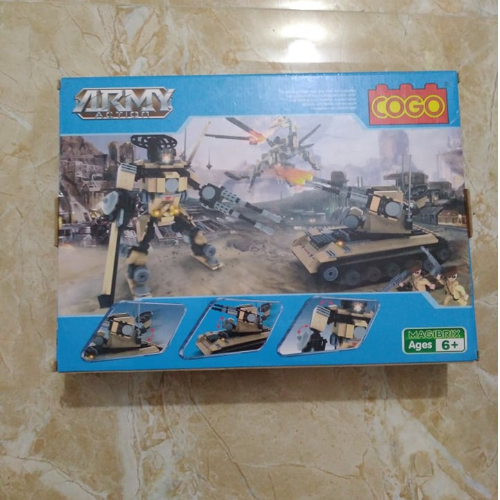 Lego Cogo Army Action #3362
