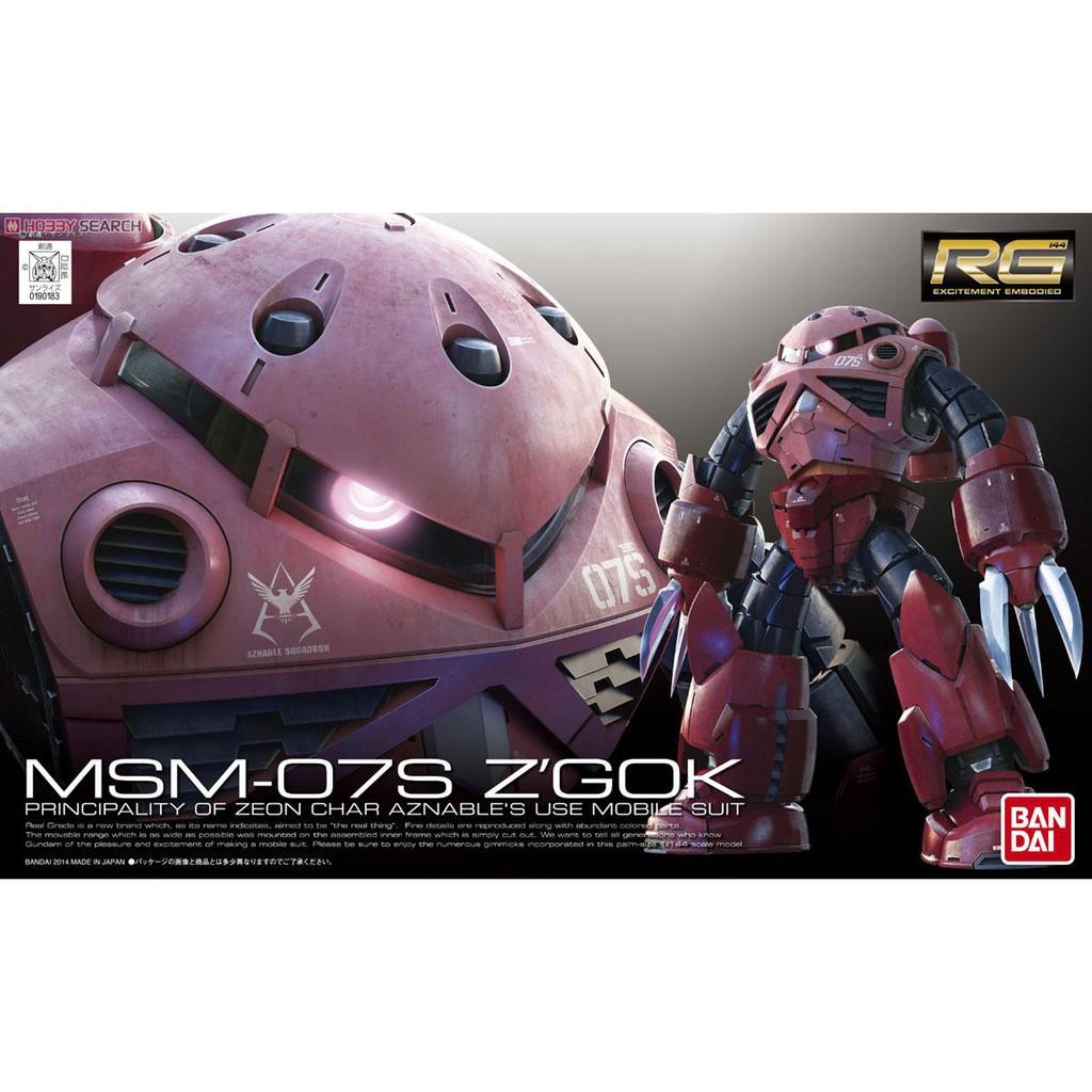 Mô hình Gundam RG16 MSM-07S Char`s Z`Gok
