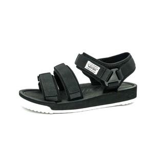 Giày Sandal Vento Nam Nữ 9801 - Đen Trắng - Sandal nữ