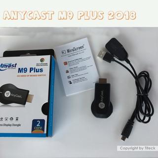 Anycast M9 Plus 2018 Full HD 1080P - HDMI không dây - Truyền tải màn hình điện thoại lên TV, máy chiếu