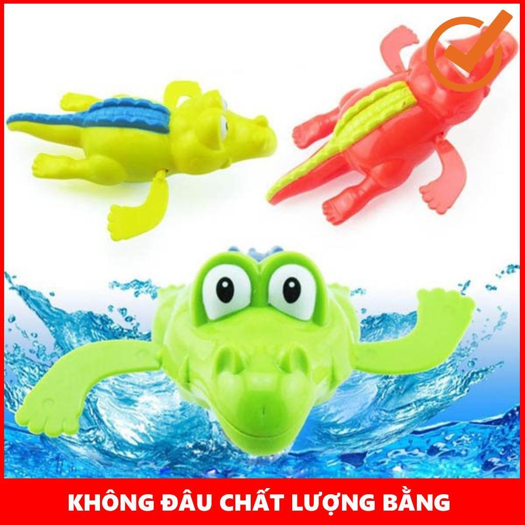Bộ 6 con thú đồ chơi bồn tắm thú biết bơi cho bé – Loại to – NAM TỪ LIÊM