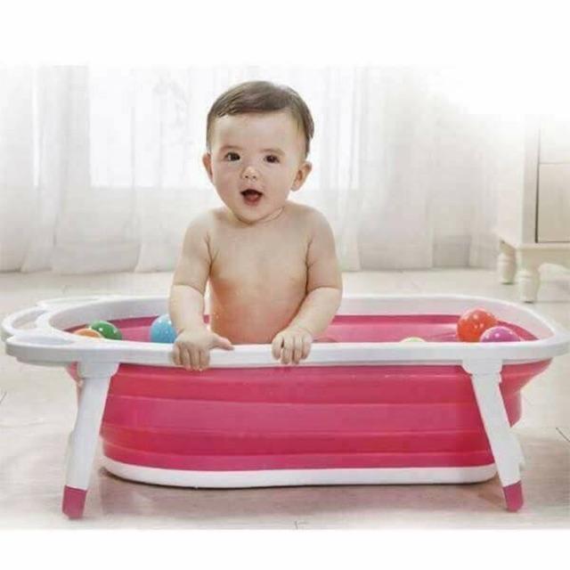 Chậu tắm gấp gọn cho bé - 3127737 , 1075043612 , 322_1075043612 , 280000 , Chau-tam-gap-gon-cho-be-322_1075043612 , shopee.vn , Chậu tắm gấp gọn cho bé