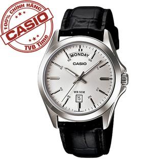 Đồng hồ nam dây da Casio Standard chính hãng Anh Khuê MTP-1370L-7AVDF (39mm)