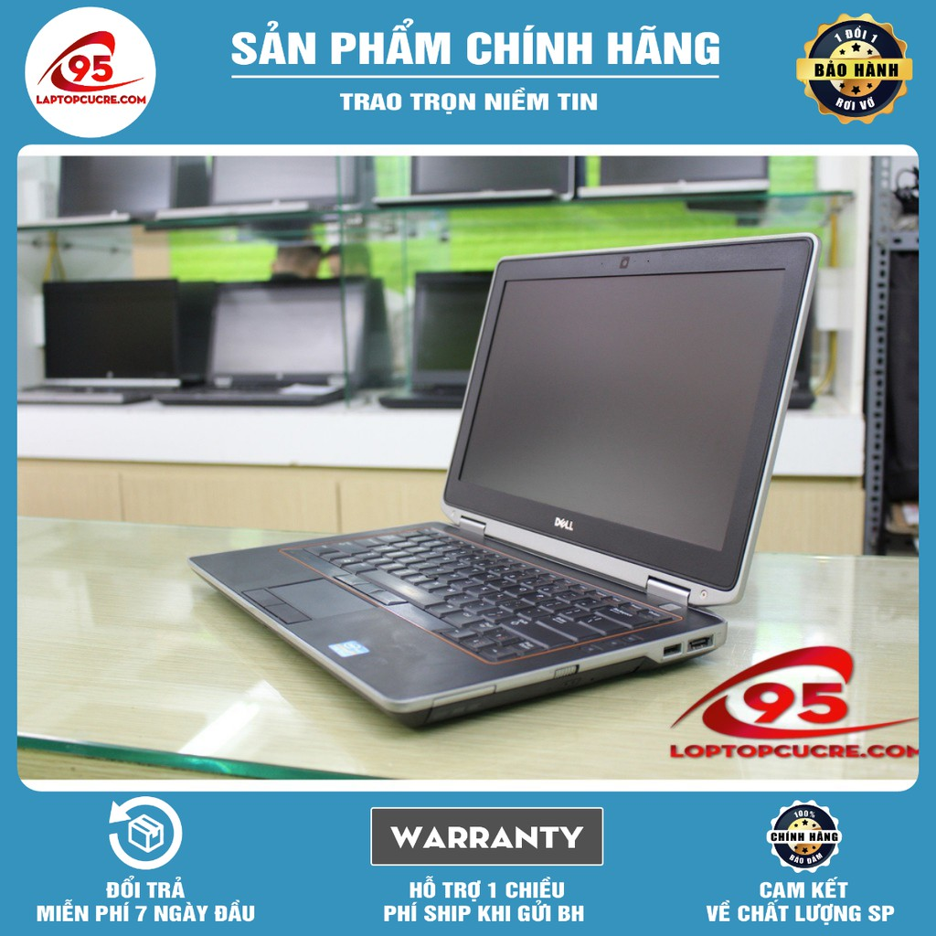 [Giá rẻ] Laptop cũ Dell Latitude E6320 I5 2520M, 4GB, HDD 320GB, Màn hình 13.3 inch Mới 97%
