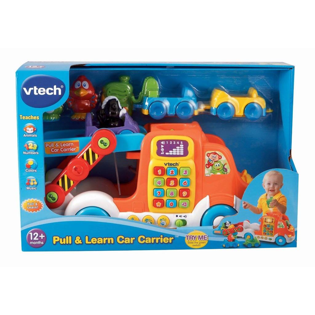 Xe tải đồ chơi chở ô tô con vtech