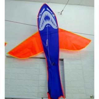 Siêu rẻ Diều cá mập kèm dây trò chơi cho trẻ mùa hè nhiều màu thumbnail