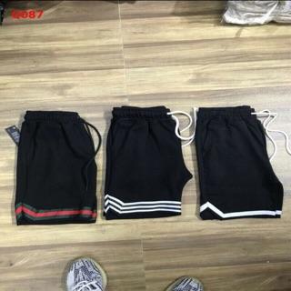 Quần shorts thể thao kẻ viền chất đẹp