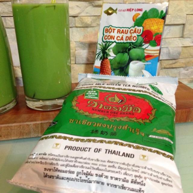 Nguyên liệu pha trà sữa Thái lan - 2824225 , 161829076 , 322_161829076 , 55000 , Nguyen-lieu-pha-tra-sua-Thai-lan-322_161829076 , shopee.vn , Nguyên liệu pha trà sữa Thái lan