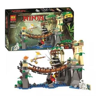 Lego ninja 10715 – trận chiến trên cầu dây