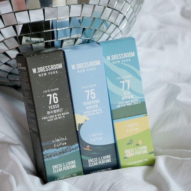Nước hoa xịt thơm quần áo W.Dressroom chính hãng 100%, có full tất cả các mùi của hãng