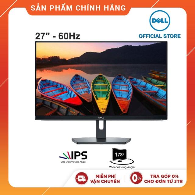 [Mã ELLAPDESK giảm 5% đơn 3TR] Màn Hình Dell SE2719H 27 Inch Full HD (1920 x 1080) Hàng chính hãng new 100%