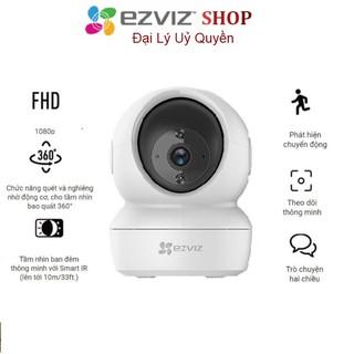 Camera Wifi EZVIZ C6N 1080P - Xoay 360 , Đàm thoại - Chính hãng thumbnail