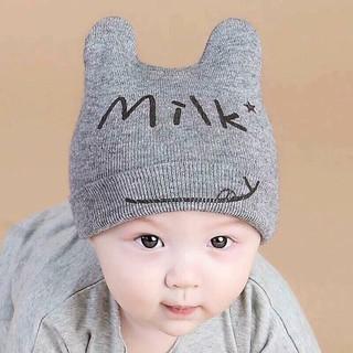 Combo 5 mũ len tai thỏ cho bé, nón len cho bé trai, bé gái