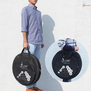 Túi đựng bộ gõ chũm chọe Cymbal 3 ngăn kích cỡ 21 inch có dây đeo vai