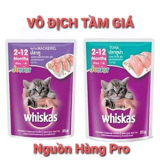 pate whiskas 85g thức ăn dinh dưỡng cho mèo whiskas thumbnail