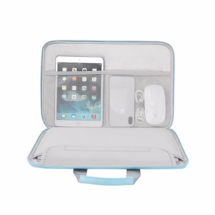 Cặp da đựng Laptop, Macbook BUBM Chính Hãng Có đai gài hành lý chống sốc tuyệt đối | SaleOff247
