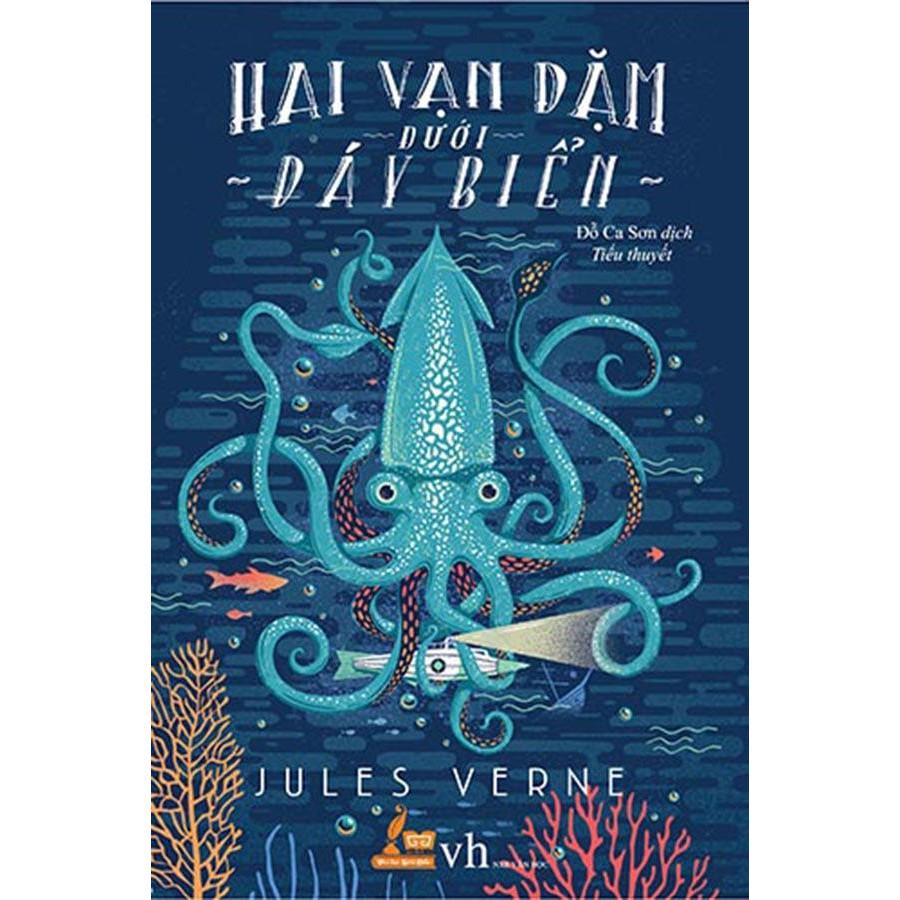 Sách văn học - Hai vạn dặm dưới đáy biển - 8935212323659