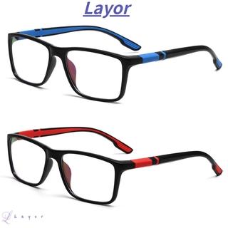 💜LAYOR💜 Fashion Reading Glasses Comfortable Progressive Multifocal Lens Anti-Blue Light Eyeglasses Portable Women Men Eye Protection Vintage Ultra Light Frame/Multicolor