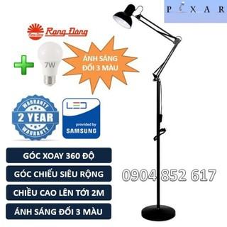 Đèn cây Pixar Cao 2m, bóng LED 7W đổi 3 màu Rạng Đông, ChipLED Samsung