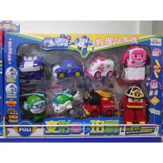 Đồ chơi biến hình biệt đội Robocar Poli P5, hàng nhựa đẹp, giá 190k