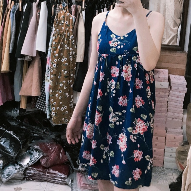 Váy lanh hoa