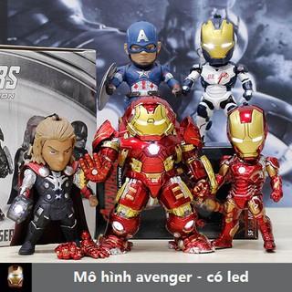Mô hình Iron man có led – Mô hình Avenger, Marvel – Mô hình Chibi
