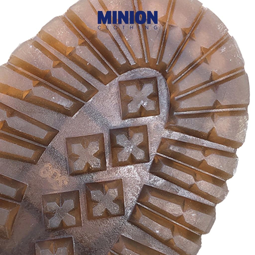 Giày da cổ cao Minion Clothing, boots đế cao 5cm phong cách Ulzzang Streetwear G2602